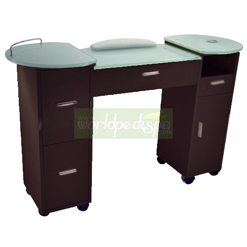 Modern manicure table joy studio design gallery best for Manicure table with exhaust fan