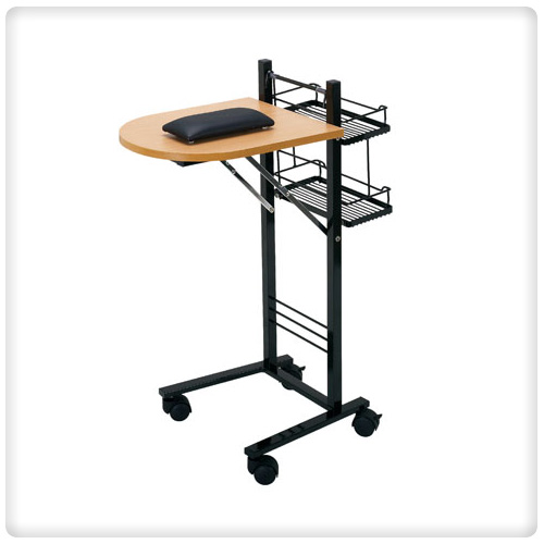 Portable manicure tables manicure tables for Small manicure table
