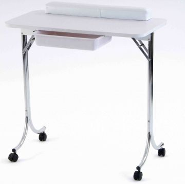 Portable manicure tables manicure tables for Mobile nail technician table