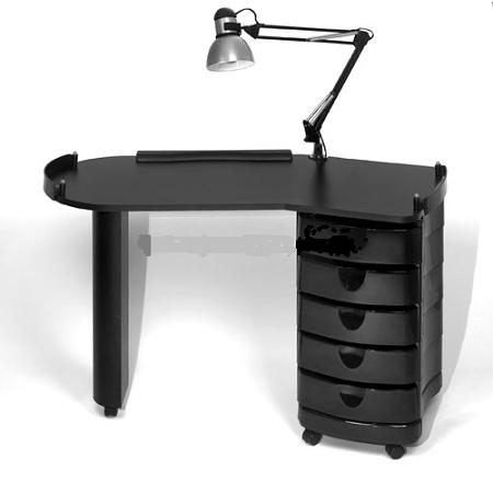 Modern nail table joy studio design gallery best design for Long manicure table