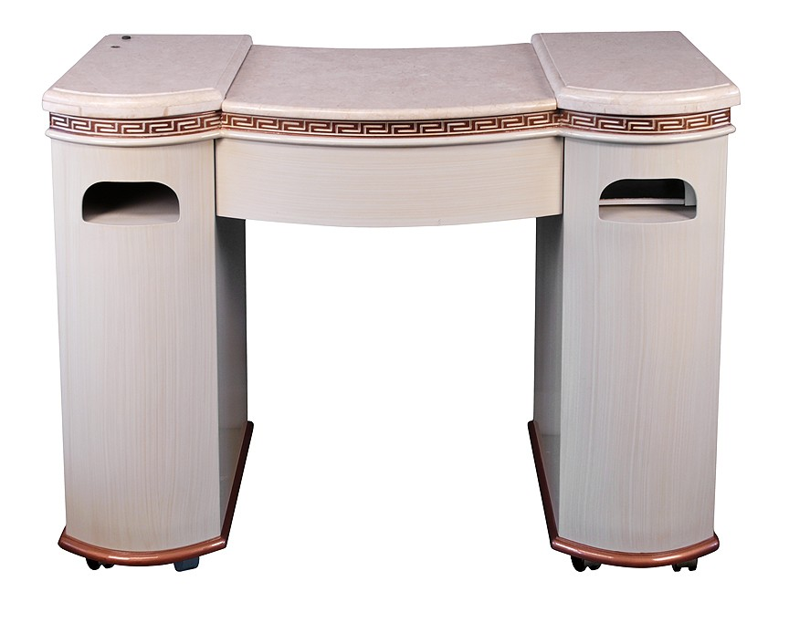 Portable manicure tables manicure tables for Nail table and chairs